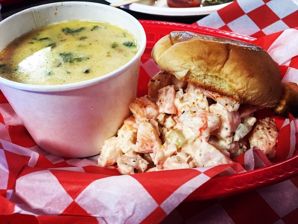 Food + Drink food table dish sandwich indoor meal cuisine junk food fast food american food breakfast brunch Seafood gumbo full breakfast side dish vegetarian food soup