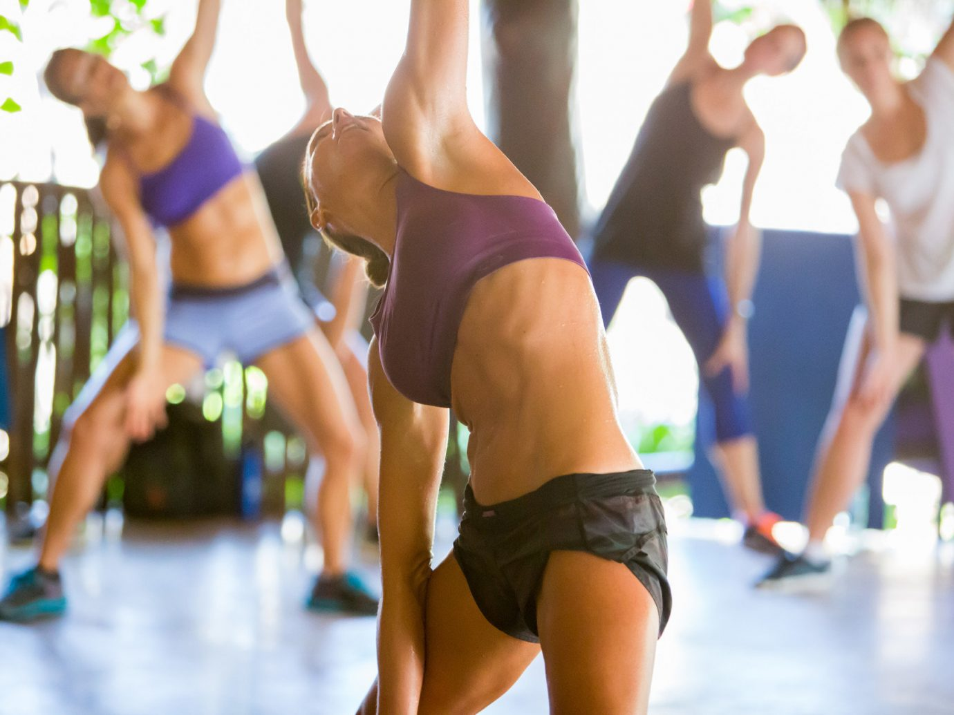 Health + Wellness Hotels Yoga Retreats person woman human action sports structure Sport sport venue physical fitness physical exercise female swimsuit