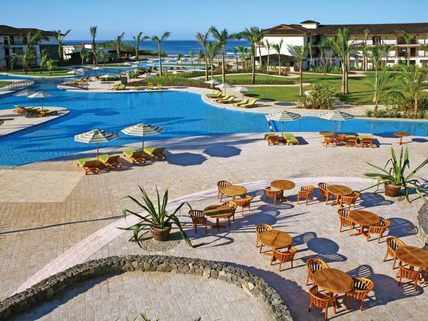 Aerial view of the pool at JW Marriott Guanacaste in Costa Rica