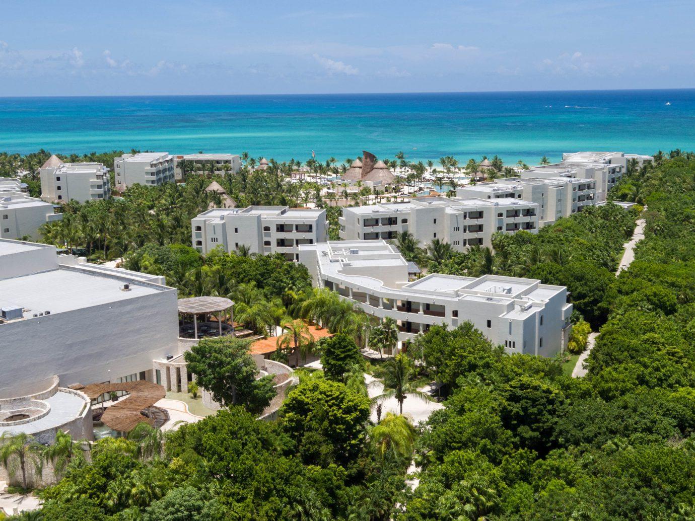 Hotels sky tree outdoor ecosystem vacation Coast Nature Sea aerial photography Ocean estate Resort cape bird's eye view bay shore traveling