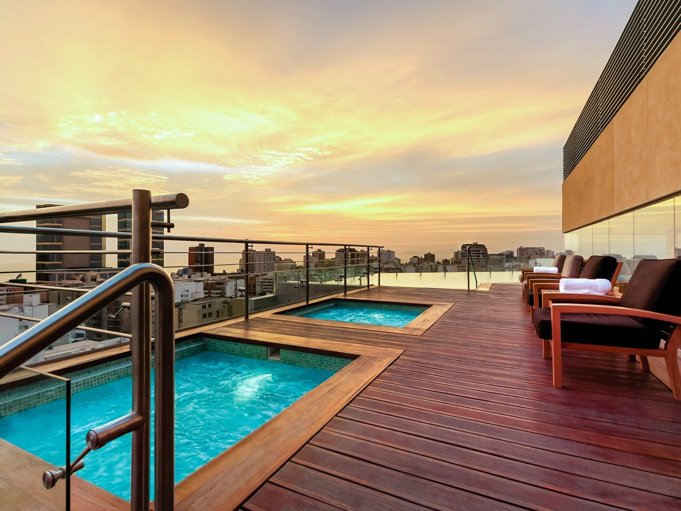 Boutique Hotels Hotels sky ground chair property outdoor swimming pool building real estate reflection Architecture home condominium water apartment estate leisure Resort wooden evening penthouse apartment vacation hotel roof Balcony amenity Pool Sea house daylighting Villa Deck