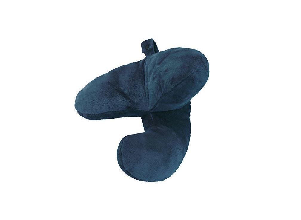 Blue J-Pillow