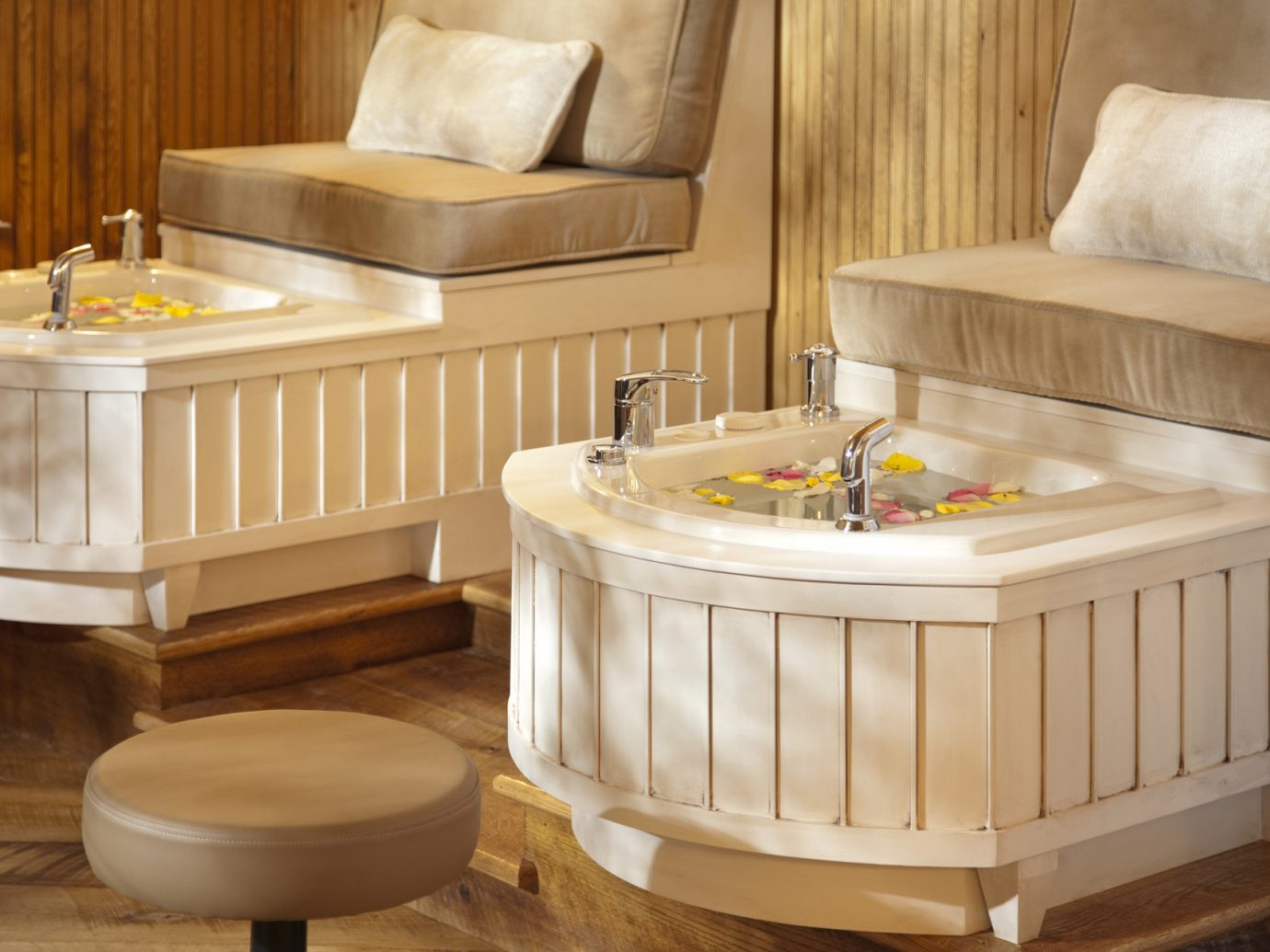 Health + Wellness Spa Retreats Trip Ideas floor indoor furniture room product swimming pool bed table bed frame jacuzzi decorated tub bathtub