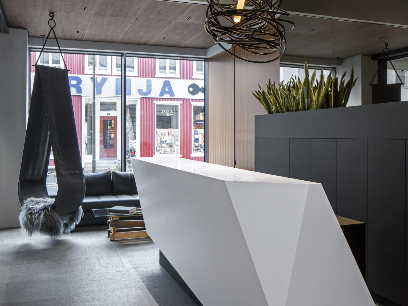 Boutique Hotels Hotels Iceland Outdoors + Adventure Reykjavík Road Trips indoor floor furniture table interior design Architecture Design flooring product design house angle daylighting chair