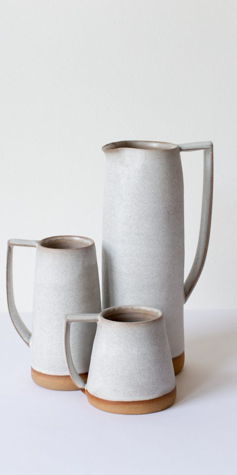 Handmade pottery from Fritz Porter Design Collective