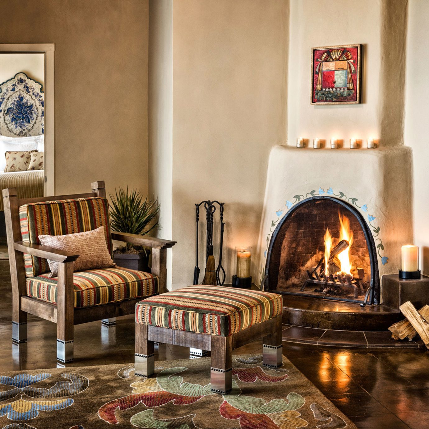 Fireplace Historic Hotels Lounge Luxury home living room hearth cottage