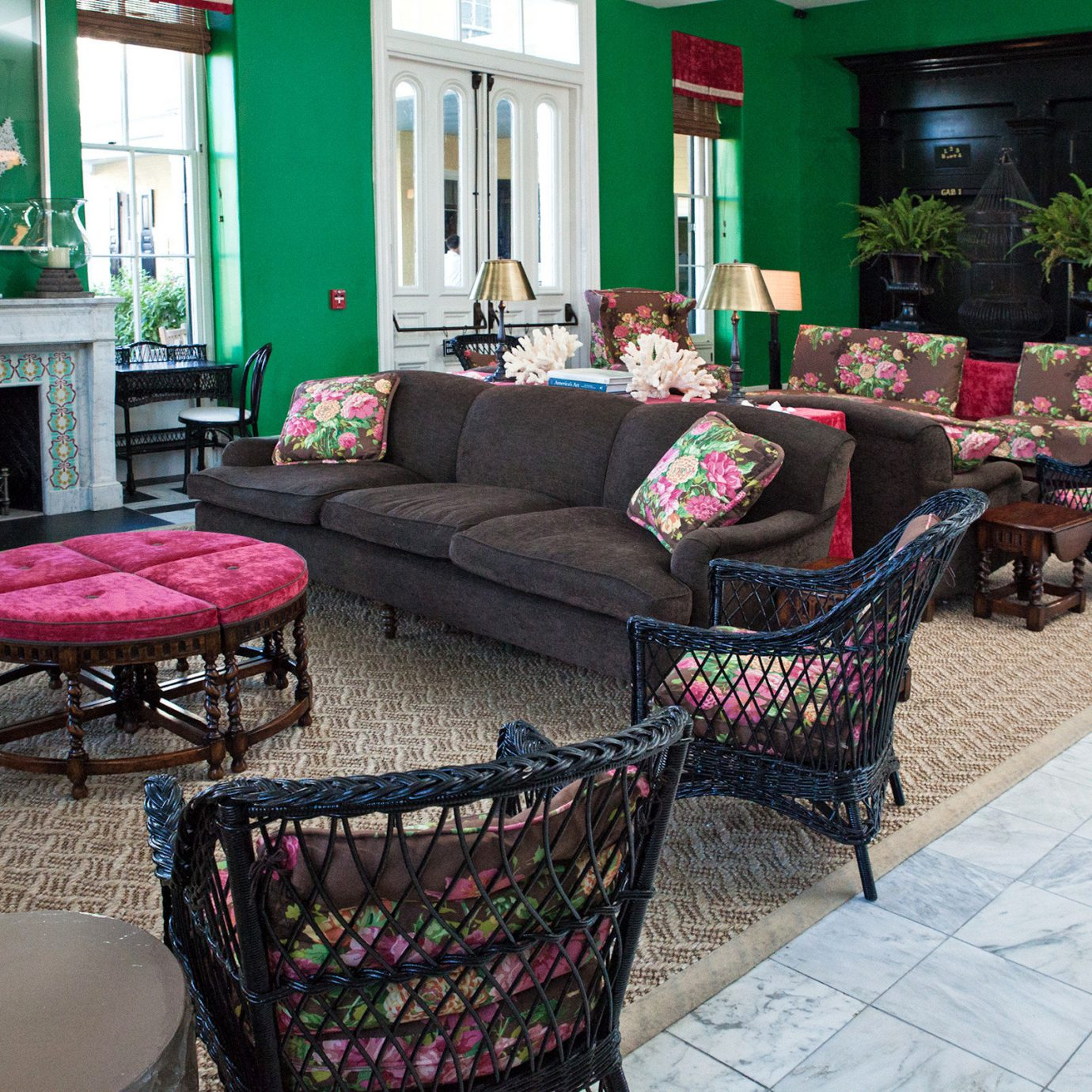 Fireplace Historic Lounge property living room home outdoor structure cottage porch backyard