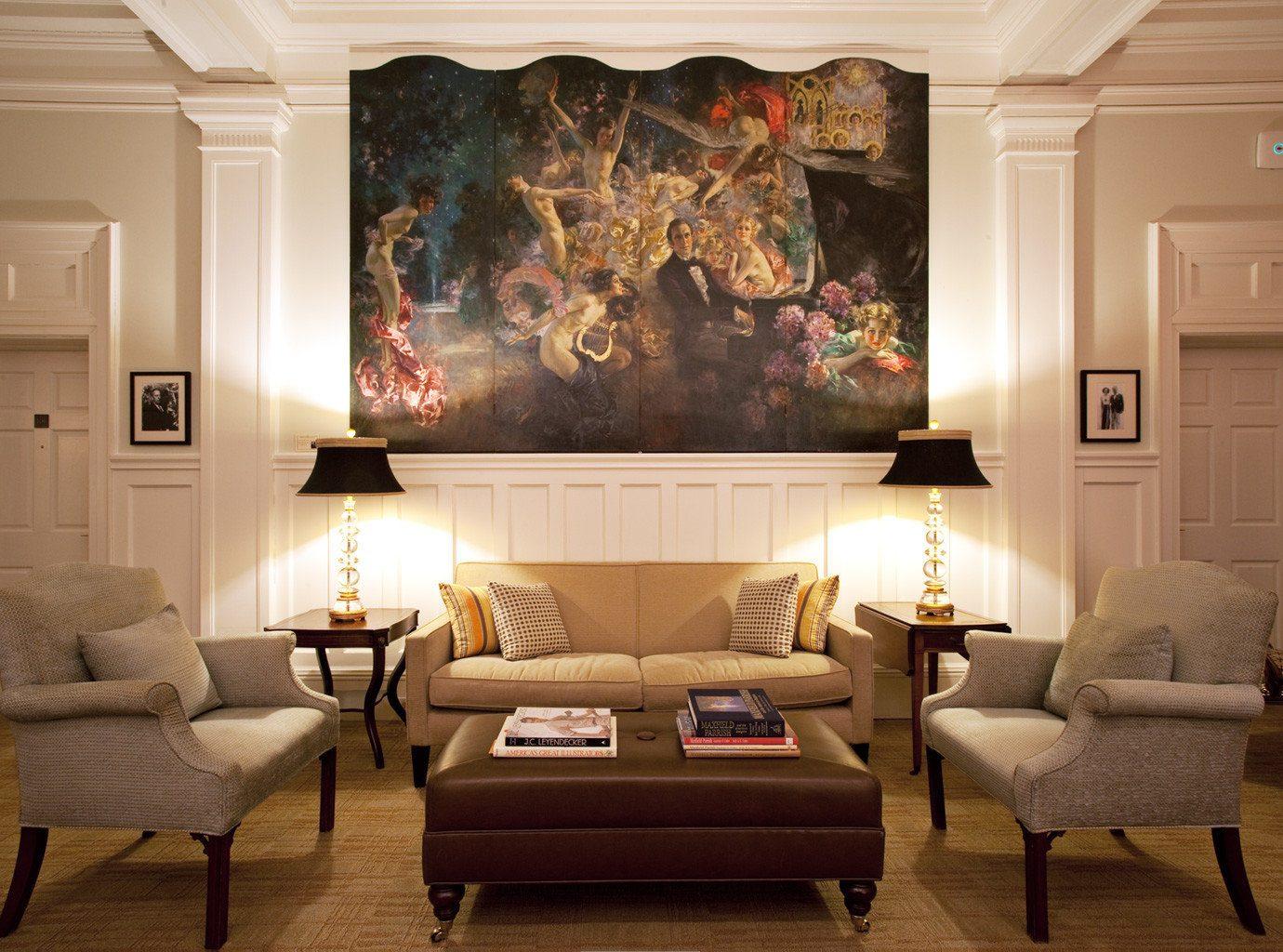 Historic Lounge Modern living room property home hardwood lighting wood flooring Suite Fireplace cottage