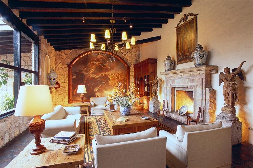 Fireplace Lounge Romance property living room home Villa mansion cottage hacienda