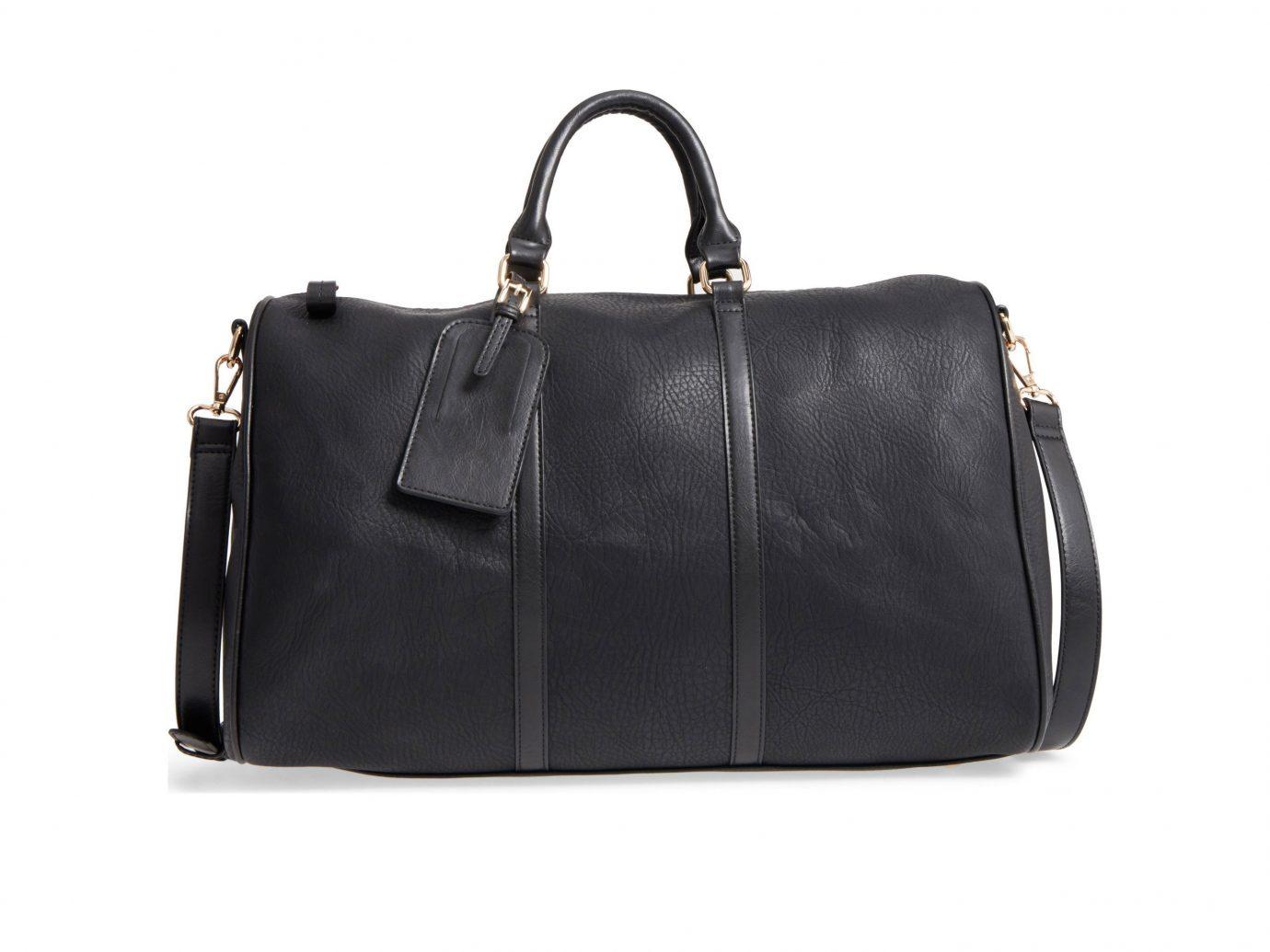 Celebs Style + Design Travel Shop bag handbag black leather fashion accessory shoulder bag product strap hand luggage baggage luggage & bags brand buckle metal animal product