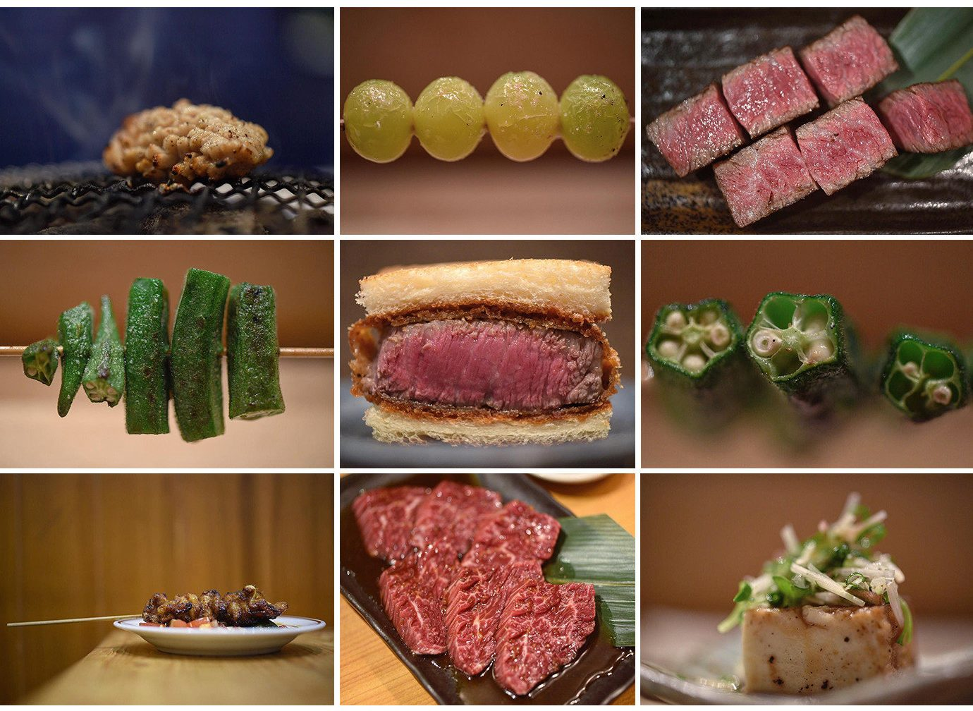 Food + Drink Influencers + Tastemakers different kobe beef meat food cuisine red meat roast beef venison beef tenderloin dish beef charcuterie animal source foods matsusaka beef flat iron steak steak flesh recipe colored vegetable
