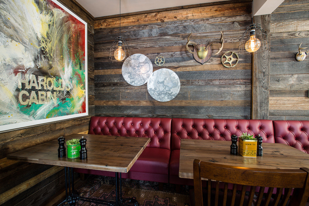 Food + Drink Trip Ideas indoor man made object room wall wooden restaurant interior design dining room wood home estate living room Bar