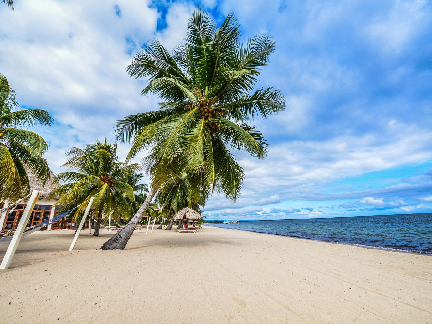 Trip Ideas tree sky outdoor Beach palm water body of water Sea shore Ocean vacation Coast caribbean tropics arecales palm family plant cape bay sand Island walkway sandy lined