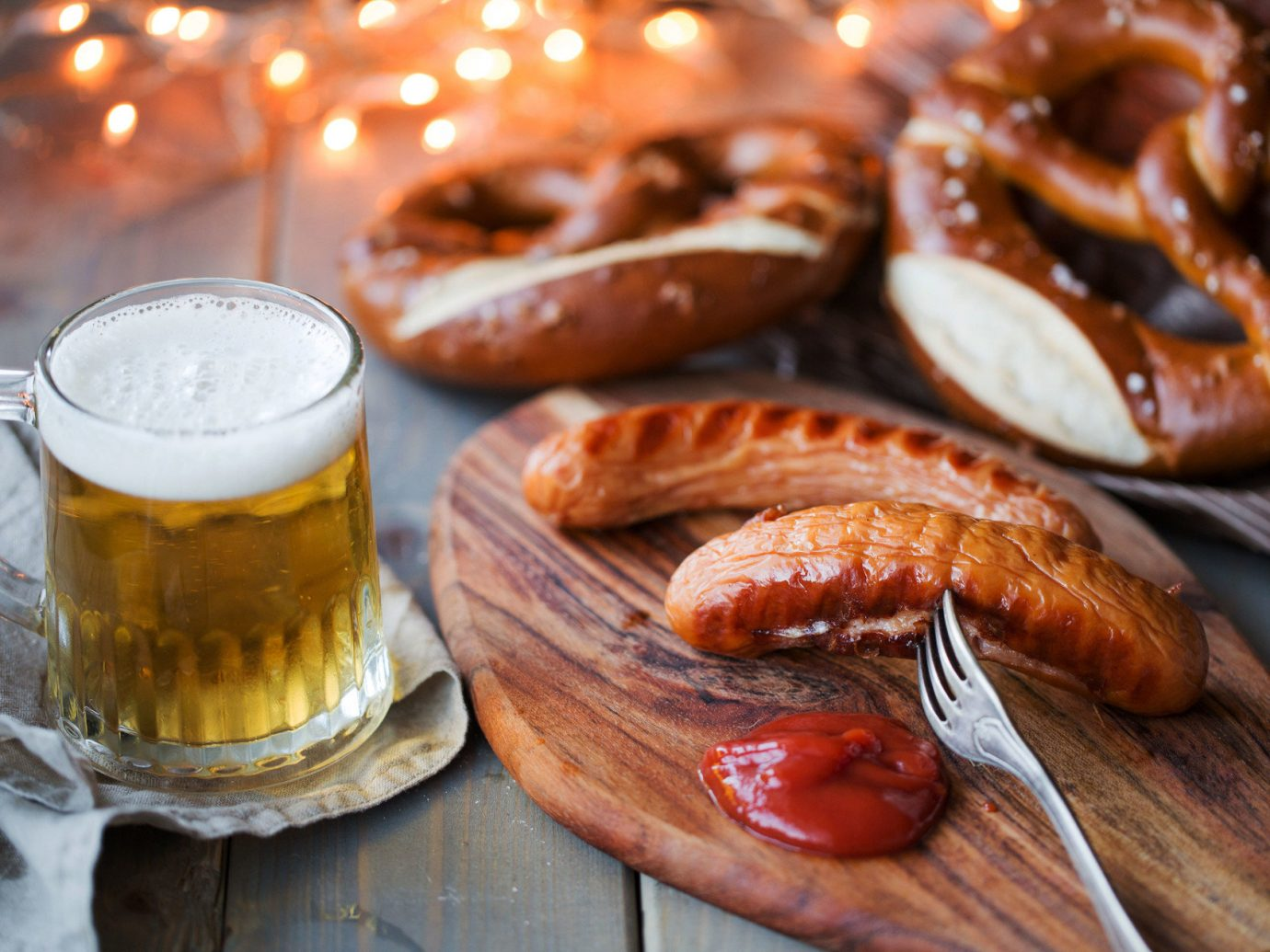 Arts + Culture Fall Travel Festivals + Events Offbeat oktoberfest Travel Tips table cup food meal produce dish breakfast wooden cuisine baking vegetable meat snack food flowering plant flavor