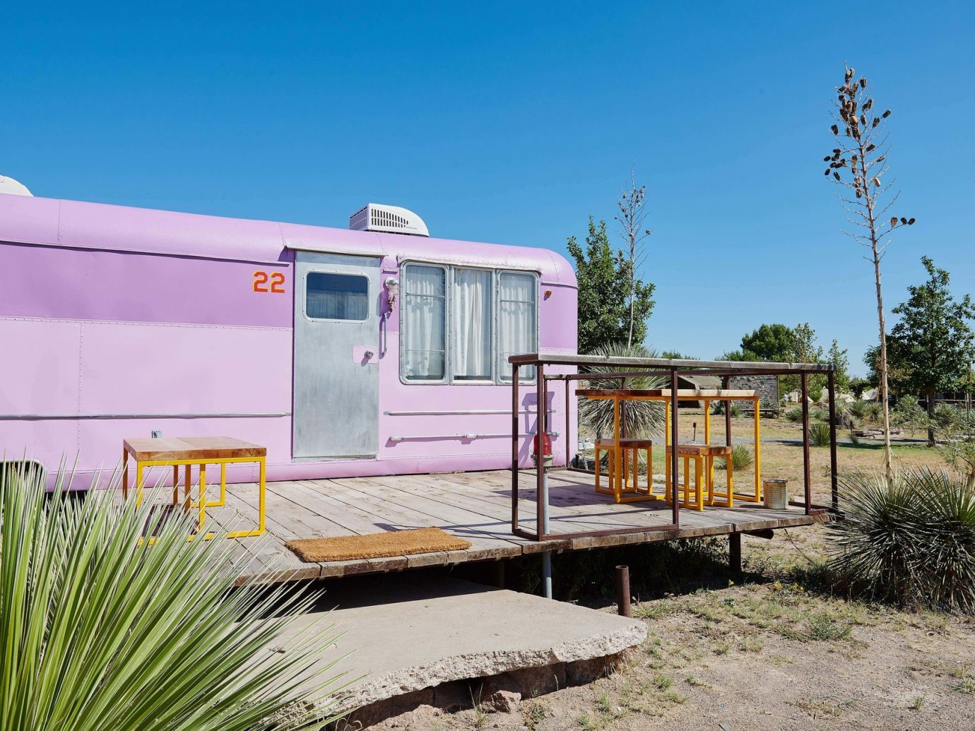 airstream artistic artsy calm Exterior Hip Hotels isolation quirky remote serene Solo Travel trendy Trip Ideas outdoor sky property transport trailer home house real estate cottage vehicle shack shed outdoor structure hut