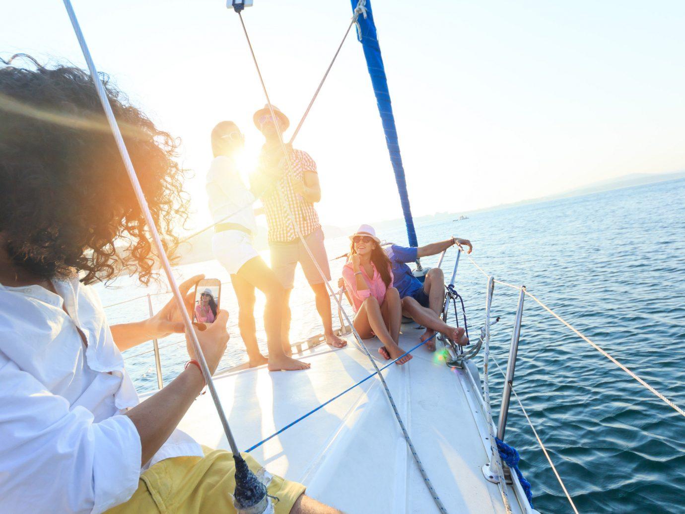 Travel Tips water sky outdoor Boat person sailing sail vehicle sailing ship sailboat windsports mast