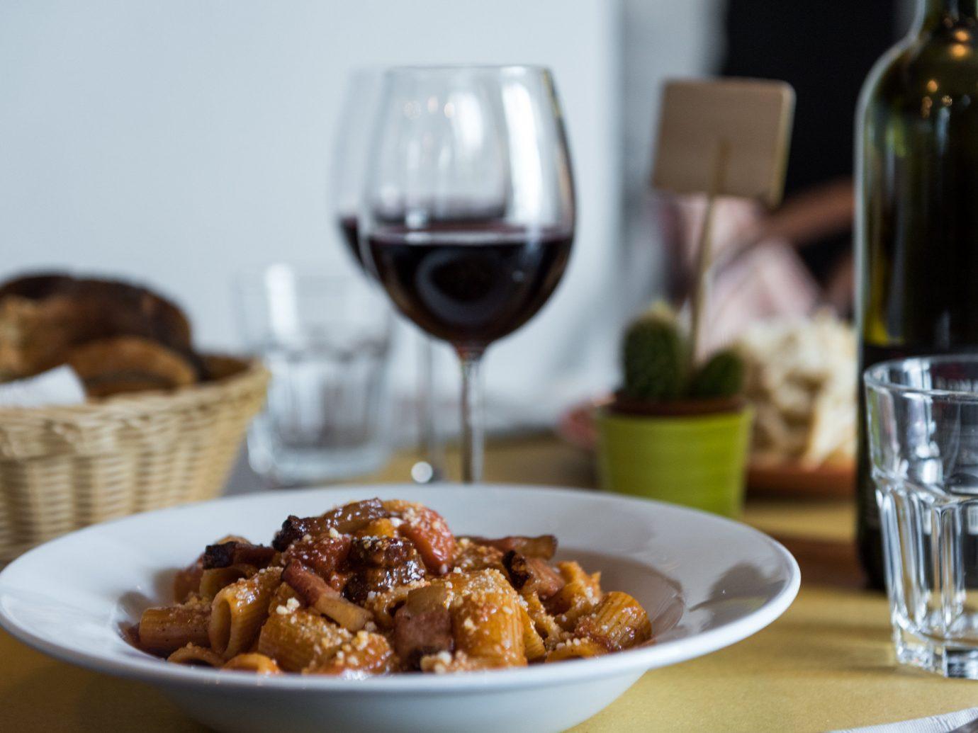 Trip Ideas table plate food wine dish cuisine tableware recipe meatball Drink dinner meal meat piece de resistance