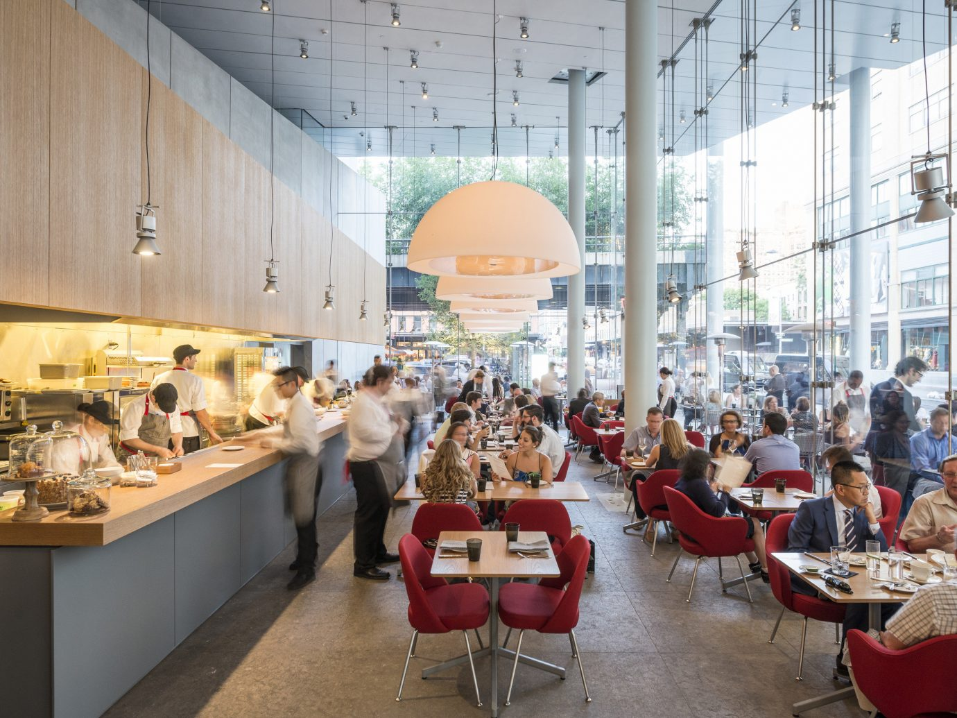 Food + Drink indoor retail Design meal interior design