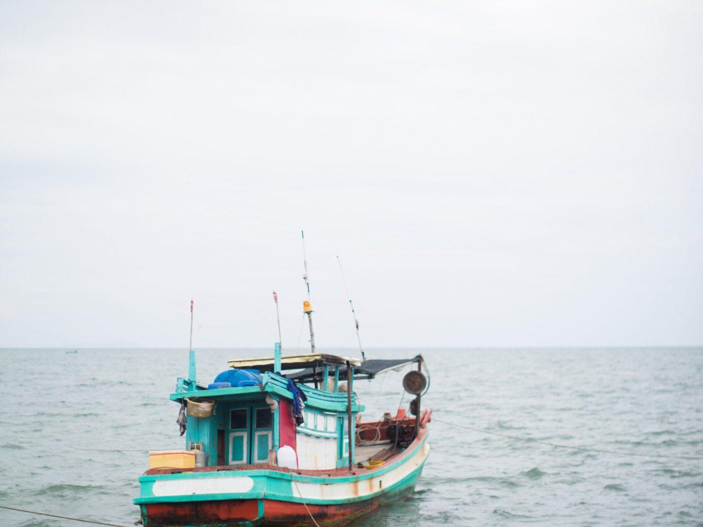 water outdoor sky Boat vehicle Sea ferry fishing vessel watercraft channel Ocean bay Coast boating ship