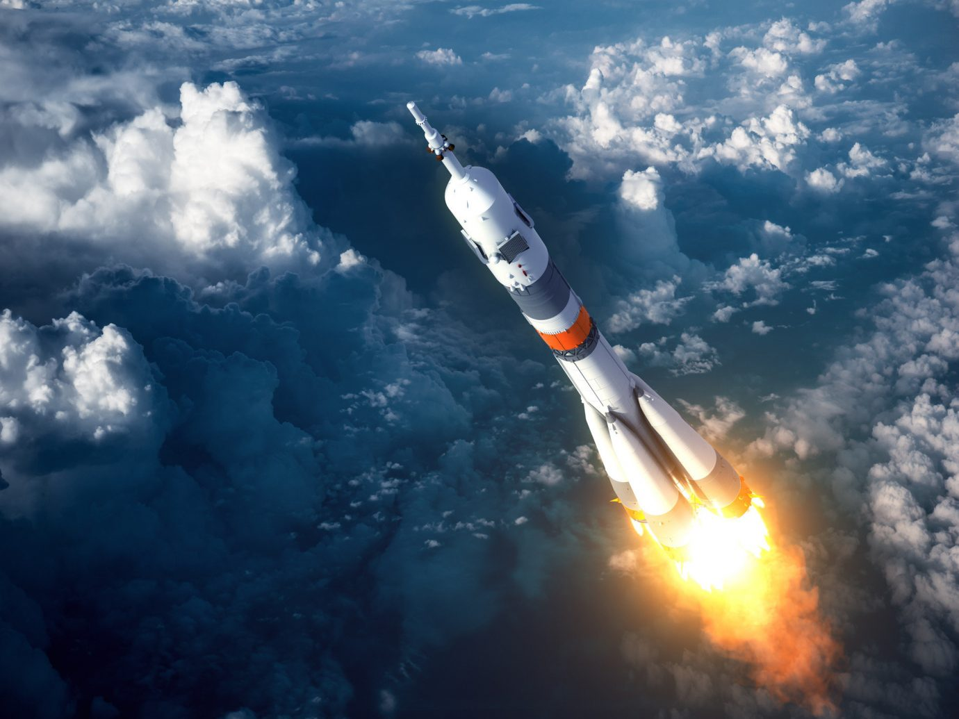 News outdoor sky clouds vehicle atmosphere atmosphere of earth aircraft transport rocket spacecraft flight aviation outer space missile cloudy day