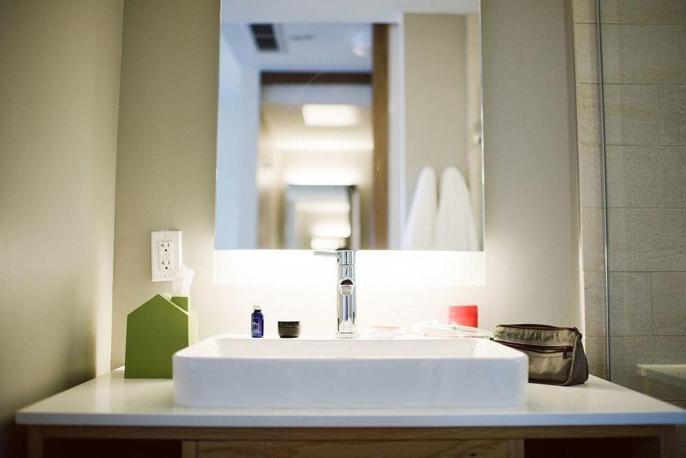 Weekend Getaways wall indoor bathroom room property sink home floor interior design Design lighting white apartment