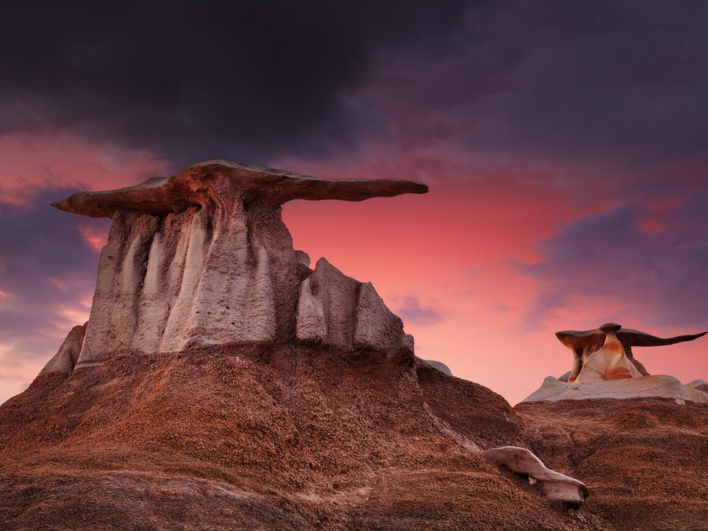 Offbeat Trip Ideas outdoor Nature sky mountain canyon wilderness valley rock screenshot landscape monument terrain savanna hillside