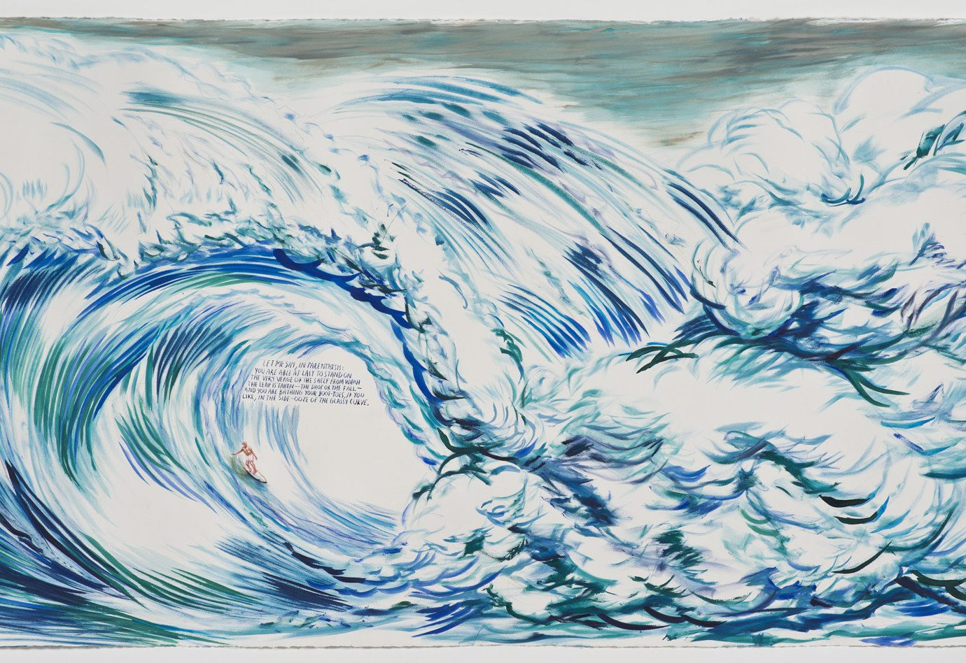 Arts + Culture blue sketch drawing illustration abstract painting linedrawing