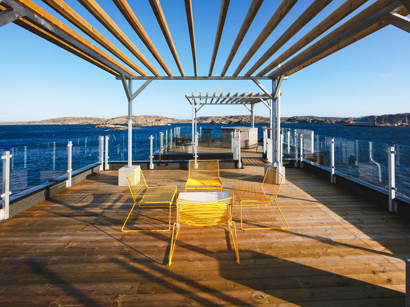Boutique Hotels Sweden water Sea sky real estate dock pier Deck outdoor structure Boat roof vacation leisure