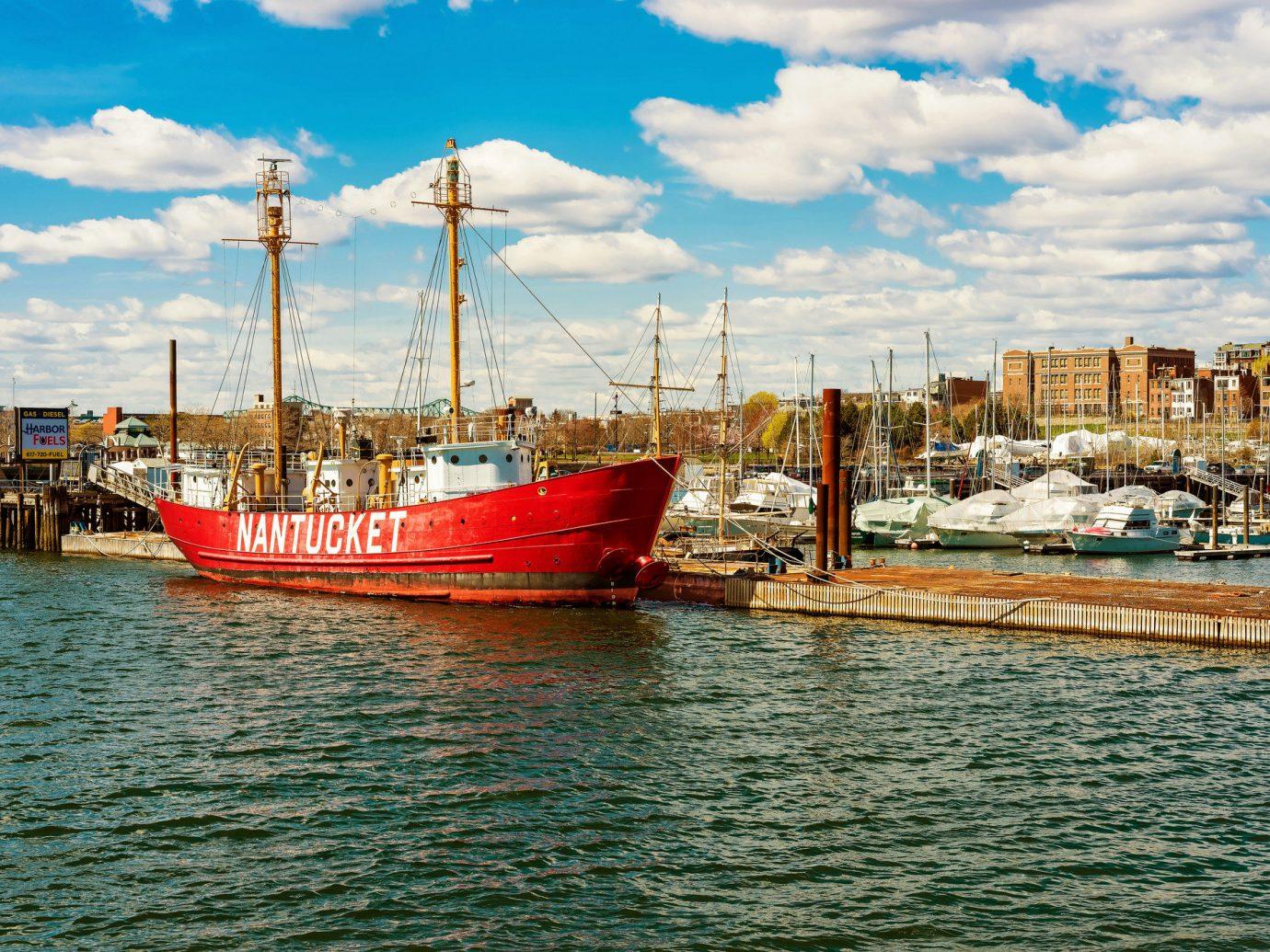 Trip Ideas sky outdoor Boat water vehicle Sea Harbor scene Coast watercraft channel Ocean fishing vessel bay port waterway dock ship docked