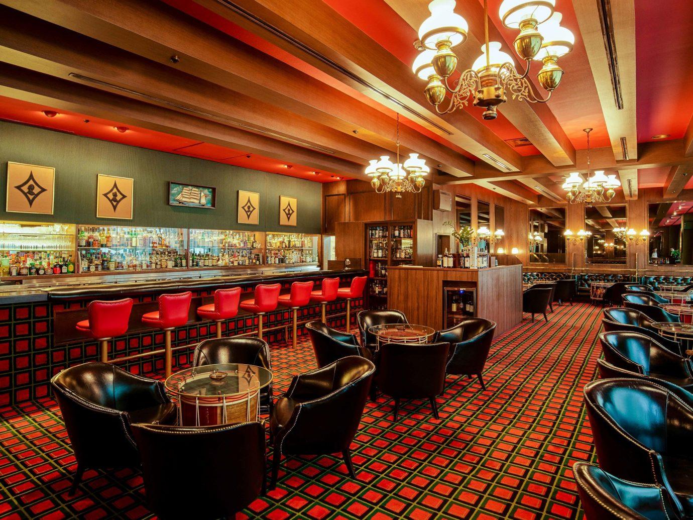 Trip Ideas indoor function hall restaurant ceiling interior design Casino Bar café Lobby fast food restaurant furniture several