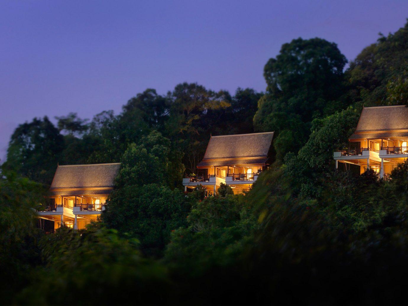 Night view at Pangkor Laut Resort, Pangkor, Malaysia