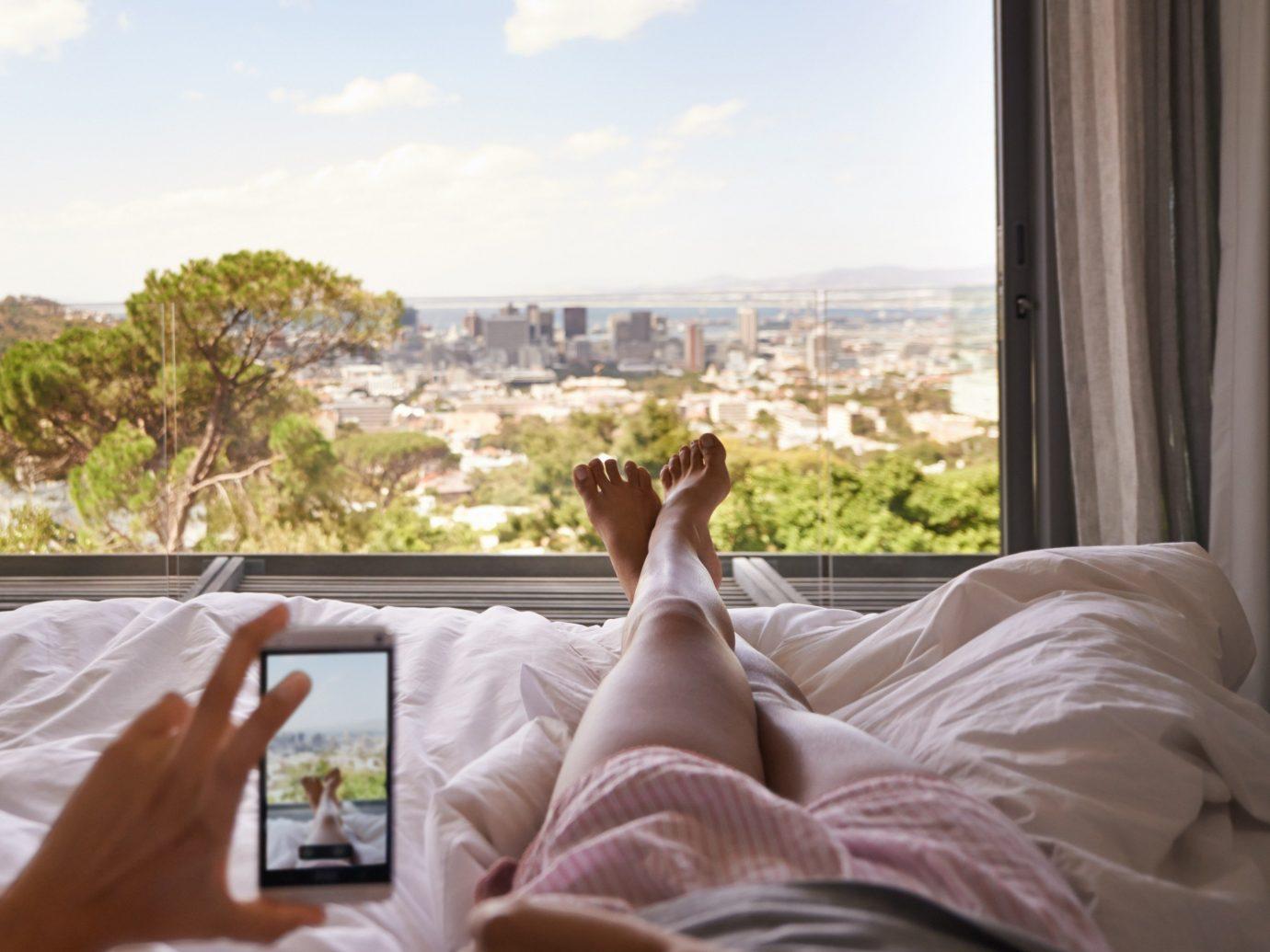 Hotels bed indoor window home interior design bedclothes