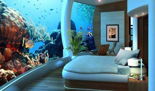 Style + Design indoor room mural interior design