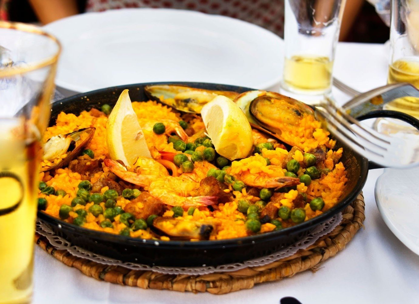 Trip Ideas table food plate cup dish meal cuisine breakfast paella produce supper Drink brunch restaurant mussel