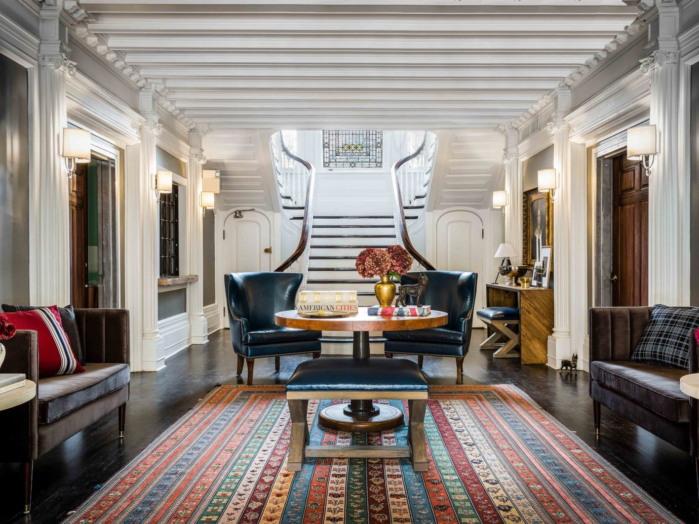 Boutique Hotels Hotels Influencers + Tastemakers Romantic Hotels Style + Design living room room interior design ceiling Lobby Suite flooring furniture