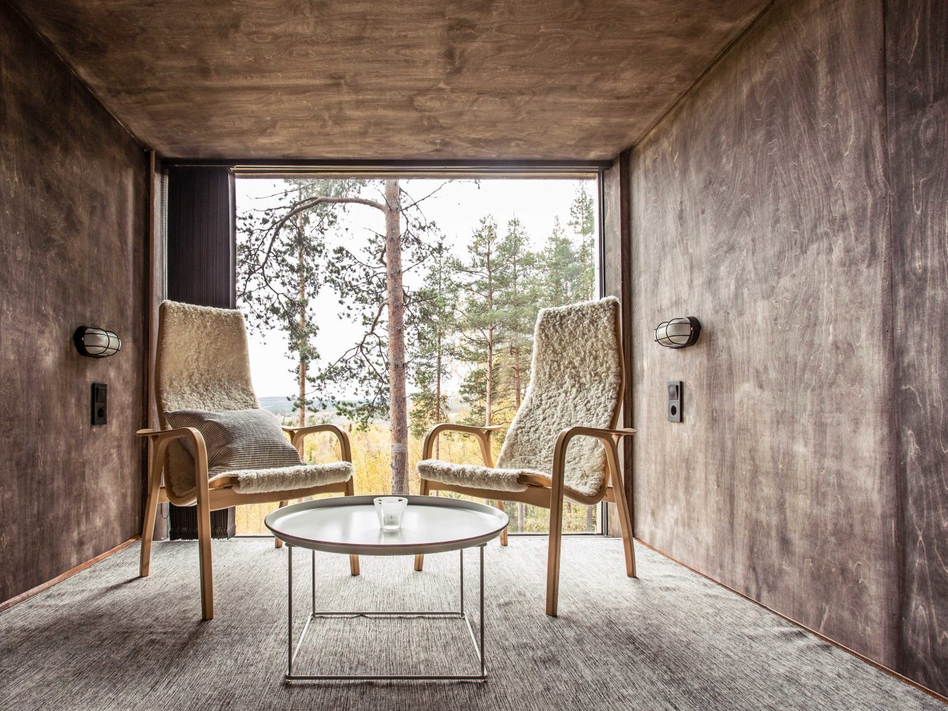 Boutique Hotels Sweden indoor floor room Architecture wall interior design house window home real estate ceiling daylighting estate chair furniture
