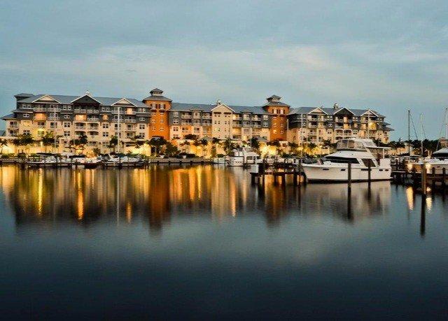 water sky scene Harbor horizon cityscape evening dusk skyline dock marina panorama waterway Sunset