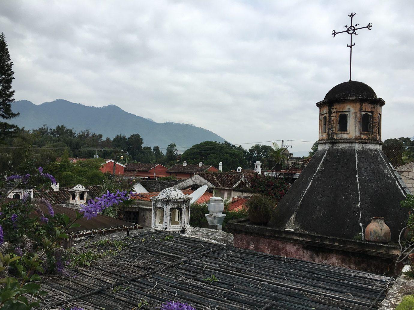 Trip Ideas sky outdoor landmark building Town tower tourism vacation place of worship Church shrine monastery temple Garden