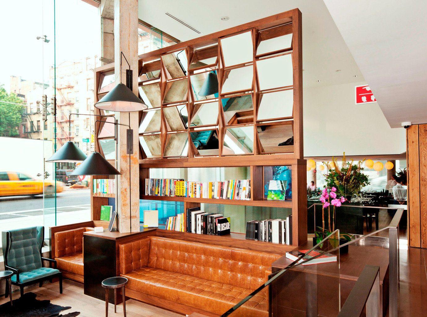 Hip Lobby Lounge Modern property home living room condominium loft