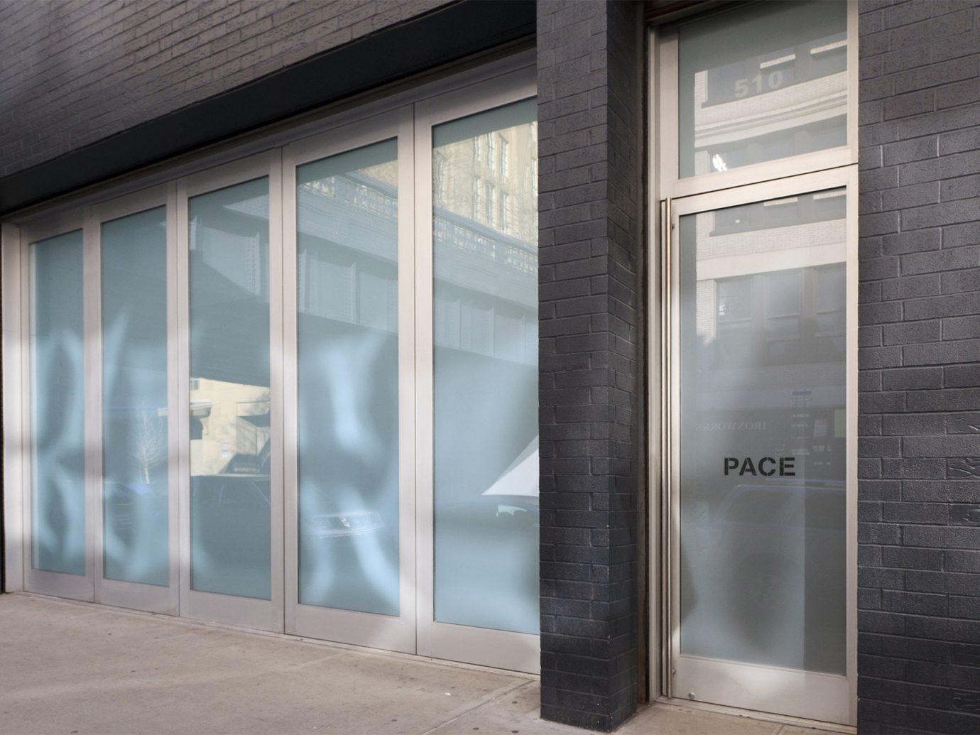 Budget window door wall Architecture interior design facade window covering glass material open empty opened