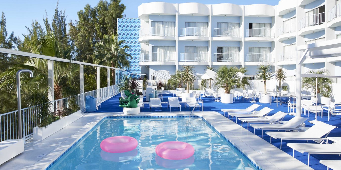 Offbeat outdoor sky Resort property leisure swimming pool building hotel real estate leisure centre resort town apartment condominium mixed use vacation water estate recreation Villa