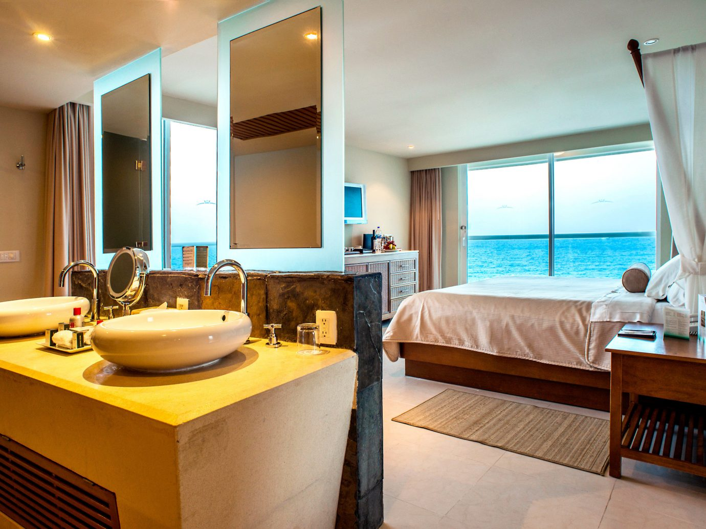 Bedroom at Sun Palace