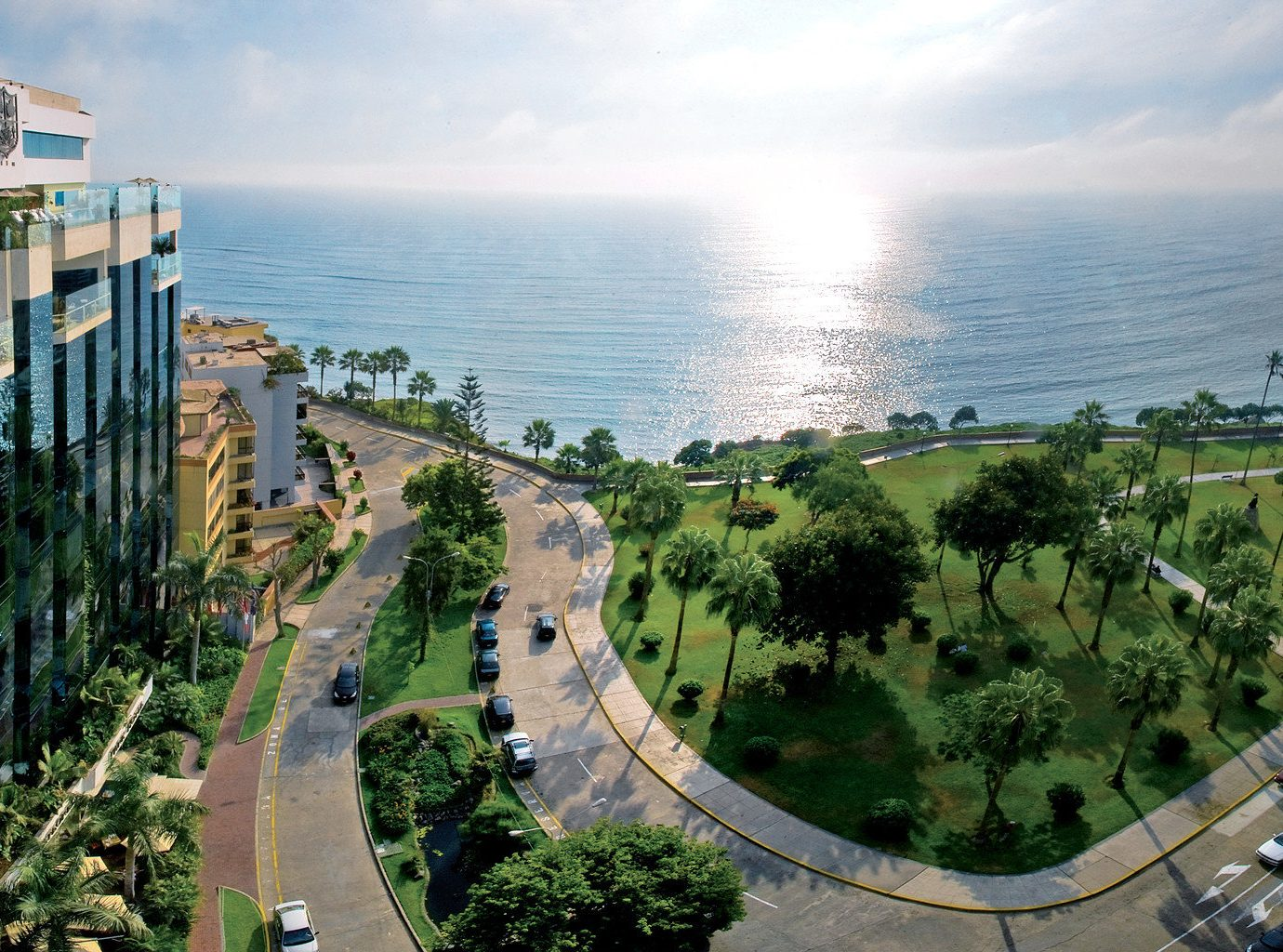 Boutique Hotels Hotels outdoor Town Coast aerial photography residential area waterway cityscape Sea overlooking