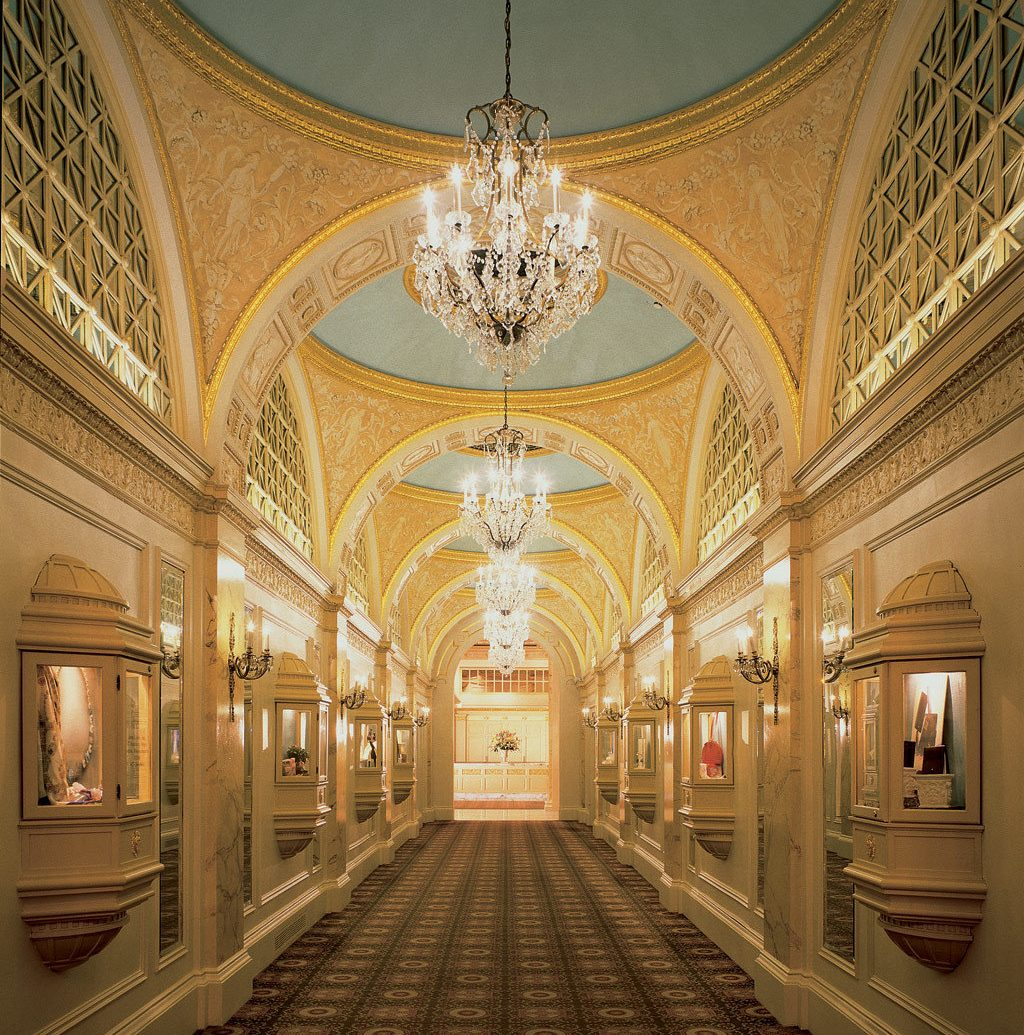 Hotels indoor building Architecture palace station interior design hall ancient history estate symmetry arch ceiling place of worship tourist attraction ballroom synagogue subway