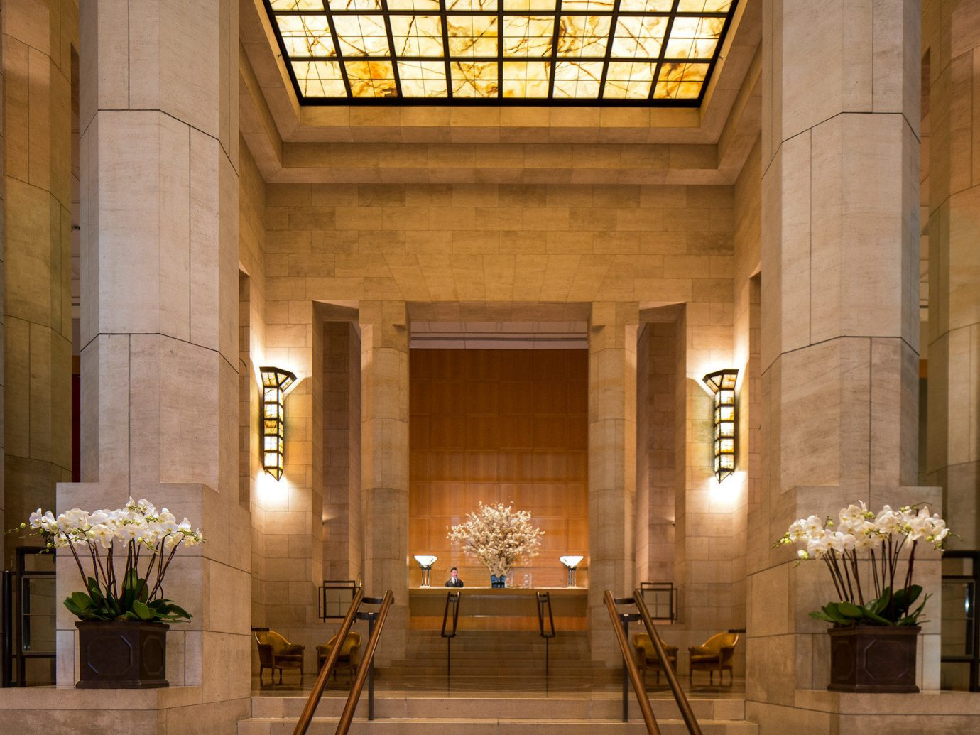 Hotels Luxury Travel Lobby building Architecture interior design lighting hall estate facade chapel tourist attraction place of worship synagogue