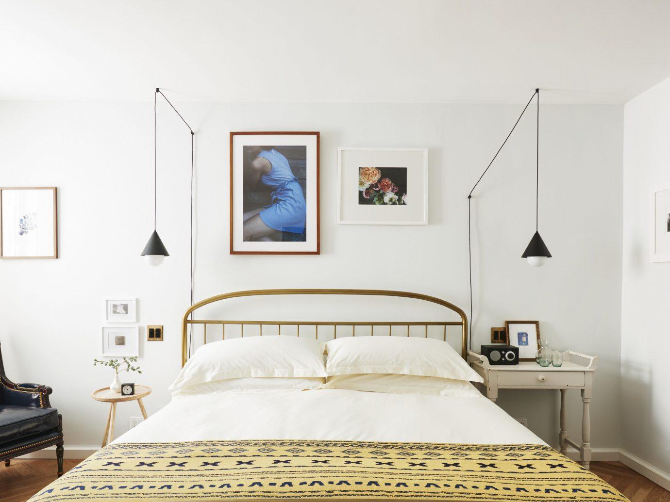 Editors Picks Luxury Travel Trip Ideas wall indoor bed room bed frame Bedroom interior design furniture scene Suite home floor real estate ceiling interior designer mattress decorated painting