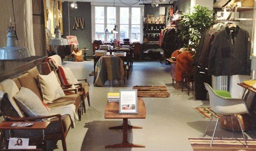 Jetsetter Guides indoor Living room floor window restaurant furniture interior design Design Boutique area cluttered