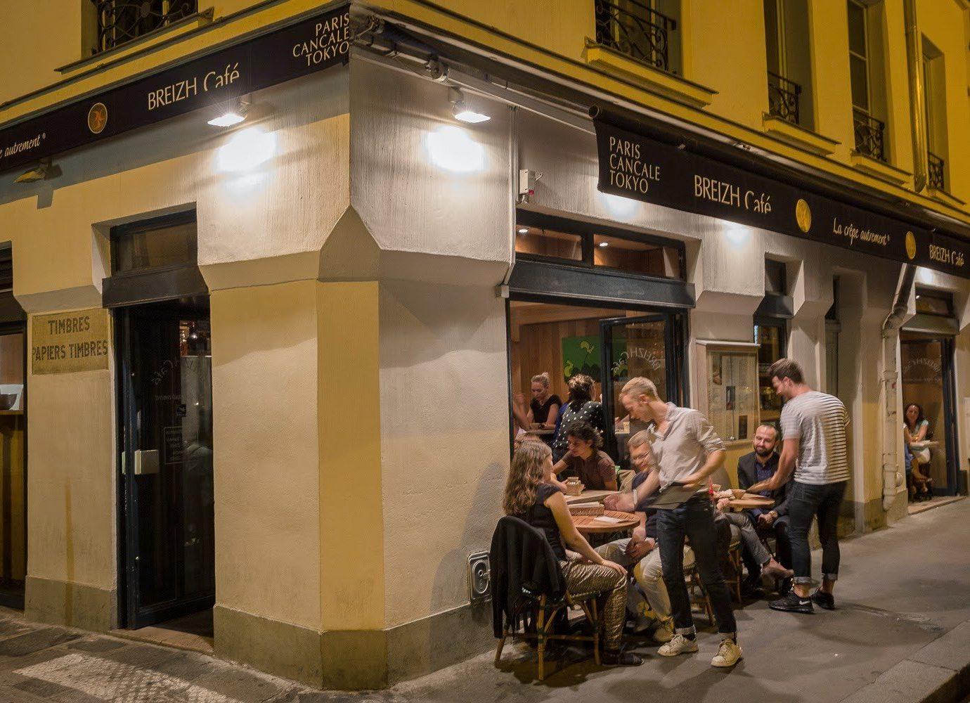 Food + Drink building road scene street store shopping interior design infrastructure way restaurant coffeehouse tourist attraction sidewalk subway