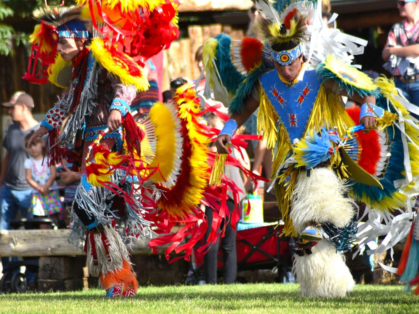 Trip Ideas grass dancer outdoor Sport carnival colorful performing arts event festival sports tradition dance colored