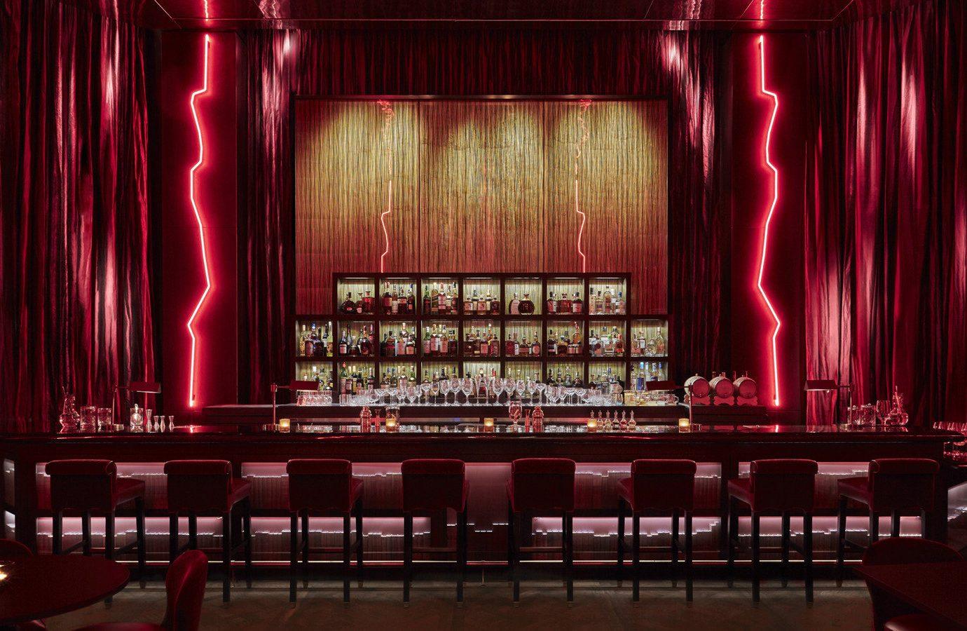 Hotels curtain indoor stage furniture auditorium performing arts interior design music venue musical theatre nightclub movie theater Bar function hall theatre